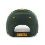 Green Bay Packers Adult '47 Brand Audible Hat - Dino's Sports Fan Shop - 2