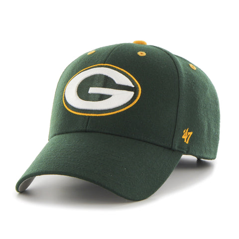 Green Bay Packers Adult '47 Brand Audible Hat - Dino's Sports Fan Shop - 1
