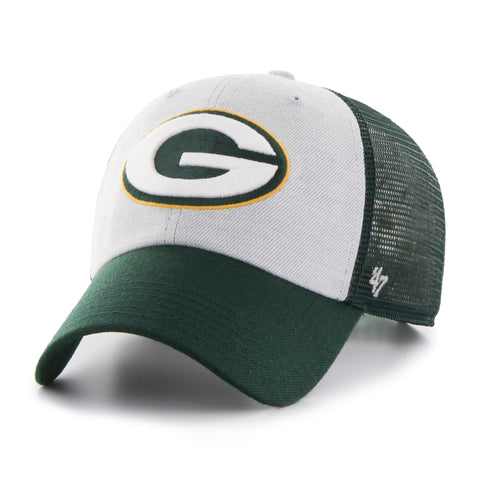 Green Bay Packers '47 Brand Clean Up Adjustable Adult Hat - Dino's Sports Fan Shop - 1