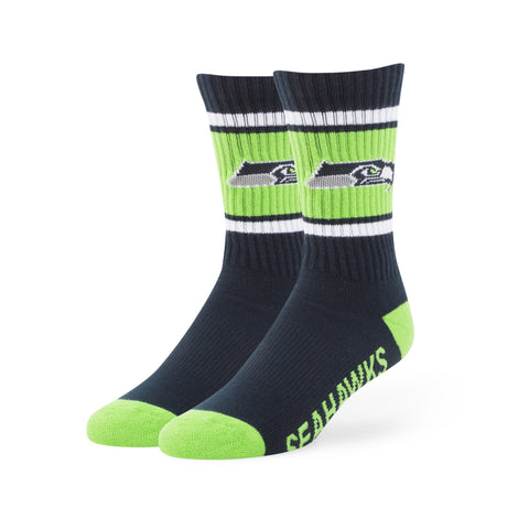 Seattle Seahawks '47 Brand NFL Light Navy Duster Sport Socks