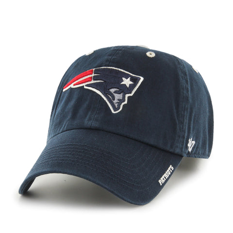 New England Patriots '47 Brand Clean Up Adjustable Adult Hat - Dino's Sports Fan Shop - 1