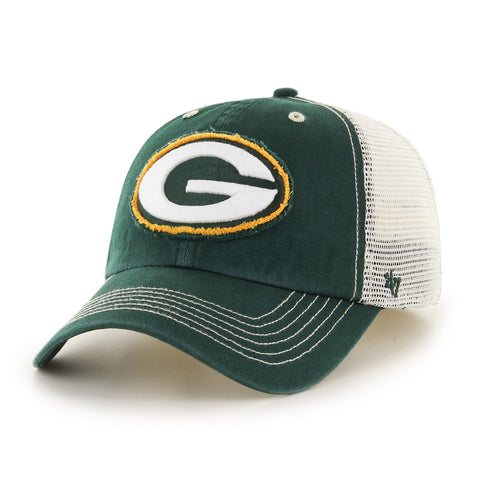 Green Bay Packers '47 Brand Closer Adjustable Adult Hat - Dino's Sports Fan Shop - 1