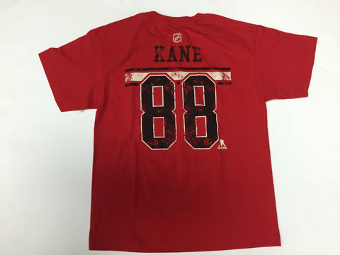 Patrick Kane #88 Chicago Blackhawks Reebok NHL Youth Red Shirt - Dino's Sports Fan Shop - 1