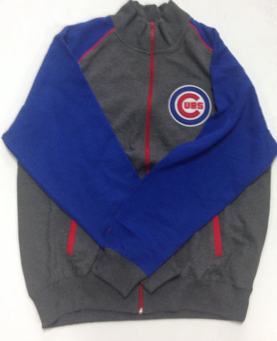 Chicago Cubs Majestic Gray Adult Pullover - Dino's Sports Fan Shop
