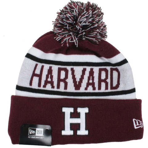 Harvard Crimson Biggest Fan Adult Redux Knit Hat - Dino's Sports Fan Shop