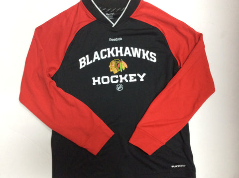 Chicago Blackhawks Adult Reebok Faceoff Shirt - Dino's Sports Fan Shop