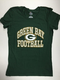 Green Bay Packers Majestic Franchise Fit Women's Shirt - Dino's Sports Fan Shop