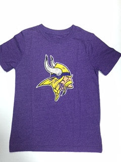 Minnesota Vikings NFL Youth Tri-Blend Shirt - Dino's Sports Fan Shop