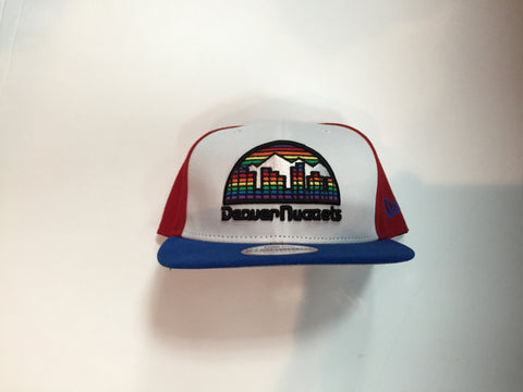 Denver Nuggets New Era The Rotator Snapback Hat - Dino's Sports Fan Shop