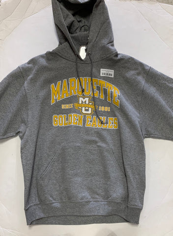 Marquette Golden Eagles Since 1881 Adult The Victory Gray Sweatshirt