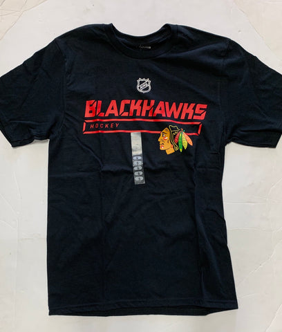 Chicago Blackhawks Hockey Adult Fanatics Black Logo Sweatshirt