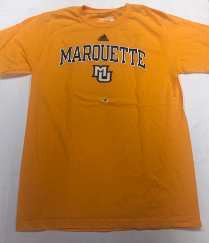 Marquette Golden Eagles Adult Adidas Go-To Tee Golden Shirt