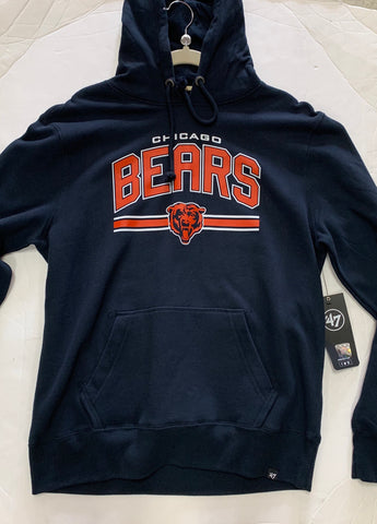 Chicago Bears '47 Brand NFL Fall Navy Adult Sweatshirt