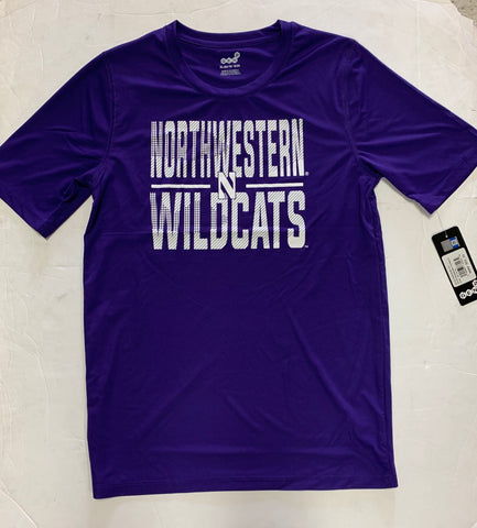 Northwestern Wildcats Youth Gen2 Dri-Fit Purple Small Logo Shirt