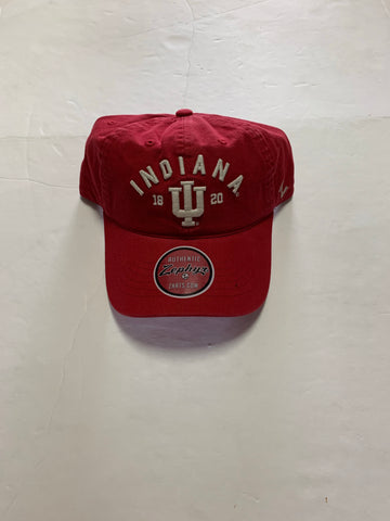 Zephyr NCAA Indiana Hoosiers Unisex Frisco Relaxed Hat, Primary Team Color, Adjustable