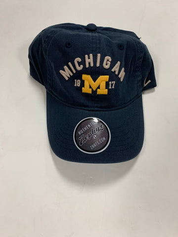 Michigan Wolverines 1817 Adult Zephyr Adjustable Hat