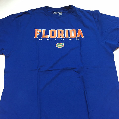 Florida Gators Adidas Blue Classic Go-To Shirt - Dino's Sports Fan Shop