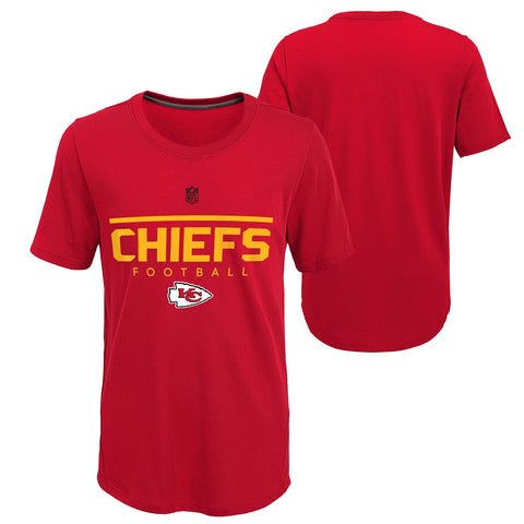 Kansas City Chiefs NFL Red Youth Training Shirt