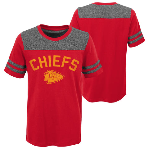Kansas City Chiefs OuterStuff NFL Two Tone Youth Short Sleeve T Shirt