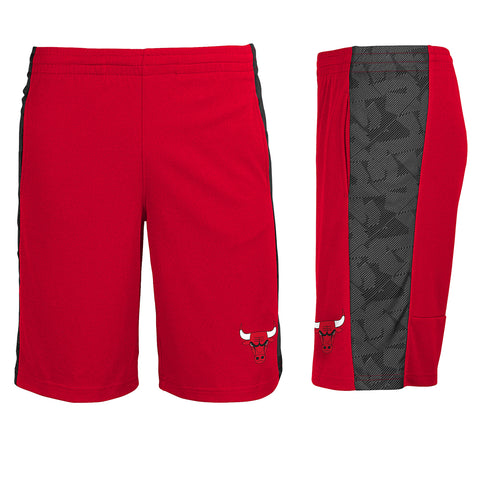 Chicago Bulls Youth Red Shorts Outerstuff