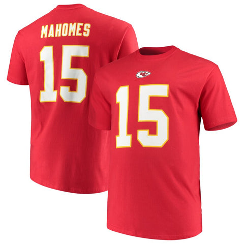 Patrick Mahomes Adult Name and Number Majestic Shirt