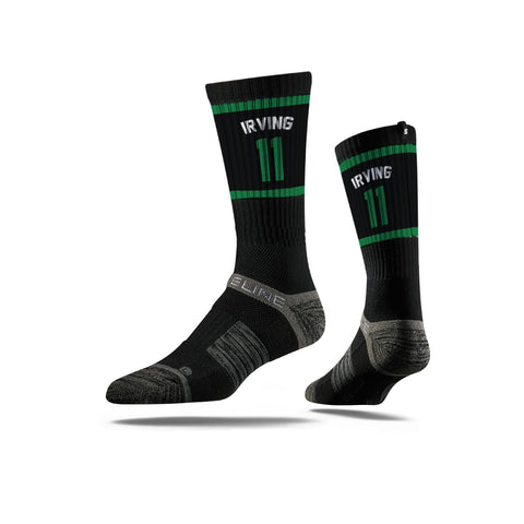 Kyrie Irving Black Celtics Strideline Socks