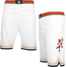Louisville Cardinals Adidas Youth Classic Replica Basketball Shorts - Dino's Sports Fan Shop