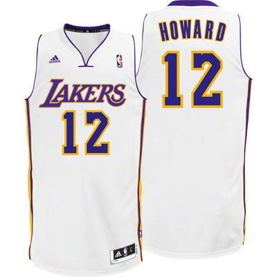 Dwight Howard #12 Los Angeles Lakers adidas Youth Swingman Alternate Jersey - Dino's Sports Fan Shop