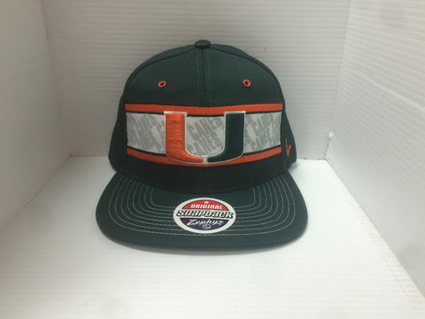 Miami Hurricanes Epic Zephyr Adult Hat - Dino's Sports Fan Shop