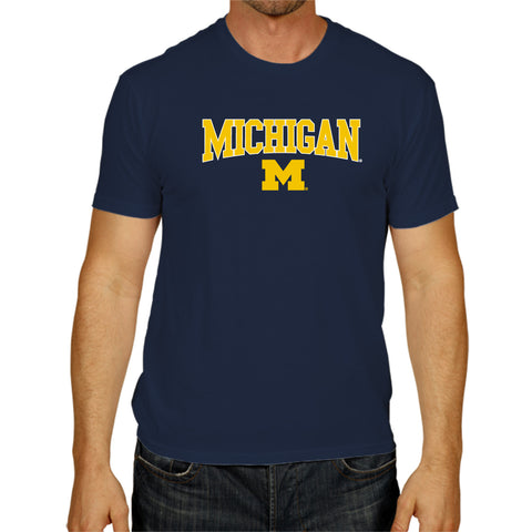 Michigan Wolverines Adult The Victory Retro Brand Shirt