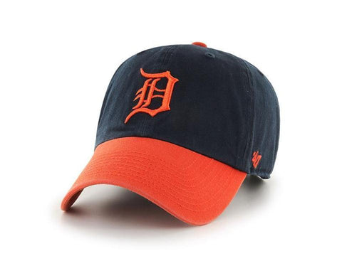 Detroit Tigers '47 Brand Two Tone Clean Up Adult Adjustable Hat