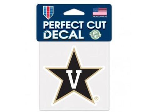 Vanderbilt Commodores Wincraft Perfect Cut Decal 4x4