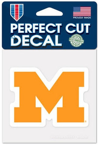 Michigan Wolverines Wincraft Perfect Cut Decal 4x4