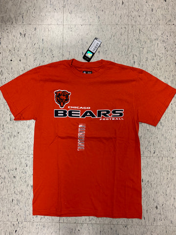 Chicago Bears Football Adult NFL Team Apparel Orange Shirt