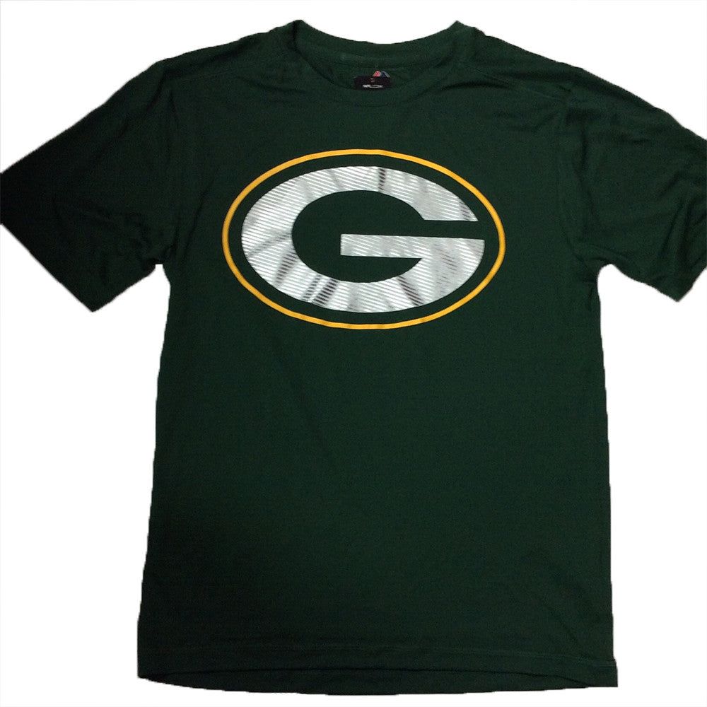 5dfd812d Green Bay Packers Majestic Performance Green World Dri-Fit Adult Shirt