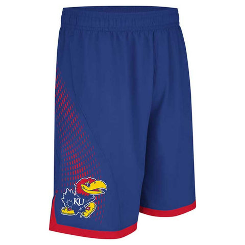 Kansas Jayhawks Adidas Youth March Madness Shorts - Dino's Sports Fan Shop