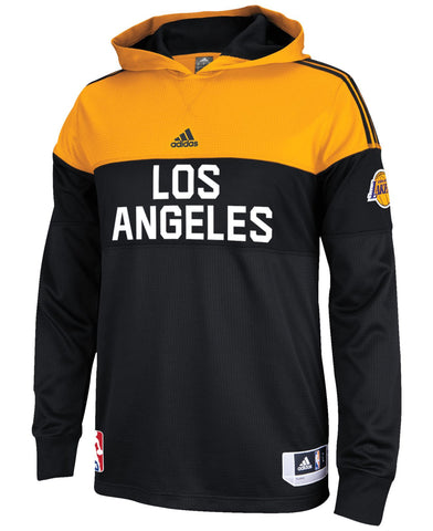 Los Angeles Lakers Adidas On Court Shooter Sweatshirt - Dino's Sports Fan Shop