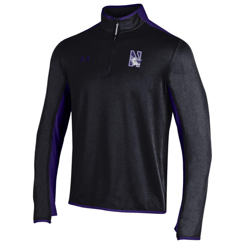 Northwestern Wildcats Under Armour Black/Purple Survival 1/4-Zip - Dino's Sports Fan Shop