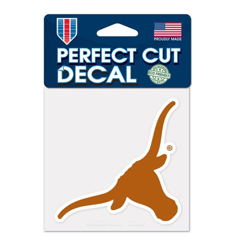 Texas Longhorns Wincraft Perfect Cut Decal 4x4