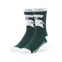 Michigan State '47 Brand NFL Green Bolt Sport Socks