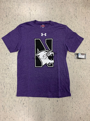 Northwestern Wildcats Adult Under Armour Legacy Purple Shirt
