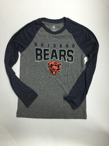 Chicago Bears NFL Grey L/S Shirt - Dino's Sports Fan Shop