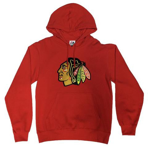 Chicago Blackhawks Majestic Heat Seal Fleece Sweatshirt - Dino's Sports Fan Shop