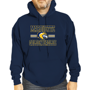 Marquette Golden Eagles Adult Blue The Victory Sweatshirt