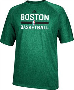 Boston Celtics Adidas Practice ClimaLite Youth Shirt - Dino's Sports Fan Shop