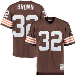 Jim Brown #32 Cleveland Browns Mitchell & Ness NFL Brown Replica Jersey