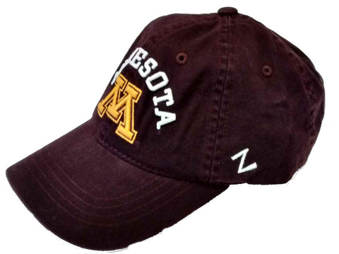 Minnesota Golden Gophers Zephyr Centerpiece Maroon Adjustable Hat - Dino's Sports Fan Shop
