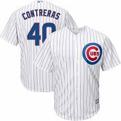 Willson Contreras #40 Youth Chicago Cubs Majestic Stitched Jersey