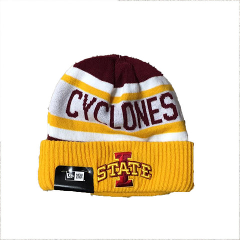 Iowa State Cyclones New Era Biggest Fan Adult Knit Winter Hat