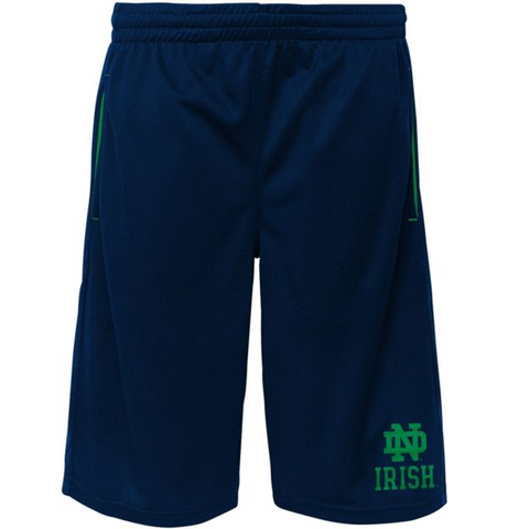 Notre Dame Fighting Irish Geniune Stuff Vector Performance Blue Youth Shorts